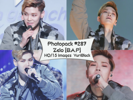 Photopack #287 - Zelo [B.A.P] by YuriBlack