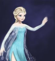 Elsa Stay Away by Ayldien