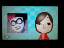 Harley Quinn according to Mii Maker (3DS) by jakelsm