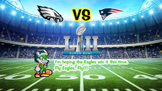 Speedy is Ready for Super Bowl LII by jmkrebs30