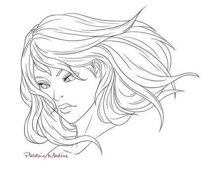 Lineart Practise by PatriciaPM