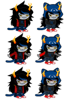 Me as Vriska: Hellnostuck (Will 8e upd8ed) by sariasong64