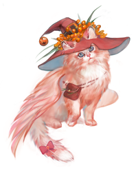 Wizard Kitty adopt AUCTION[CLOSED] by opi-um