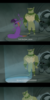 CTTT Discord shenanigans: Wrong Lever by Sckookum