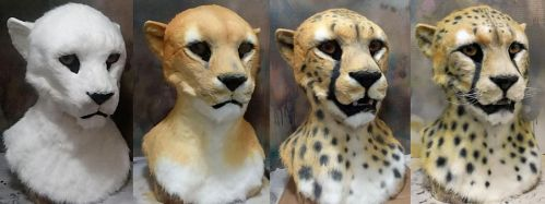 Cheetah airbrushing by Crystumes