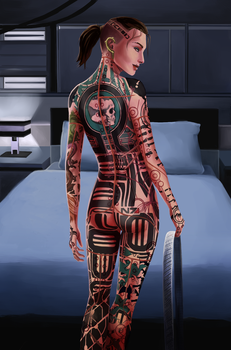 Jack's N7 Tattoo by Nightfable