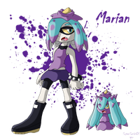 Marian, the Toxic Inkling by SuperSonicGX