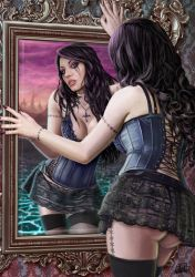 Mirror II by DarkAkelarre