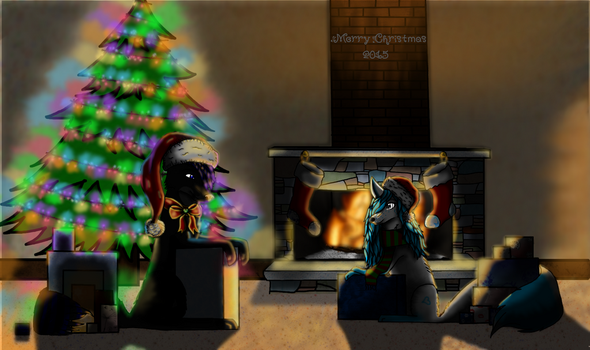 A New Christmas by Wolfie-Le-Wolf