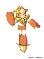 Justice Man (Mega Man Rock Force) by KarakatoDzo