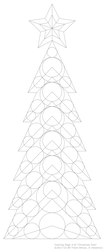 Coloring Page #10 'Christmas Tree' by fewilcox