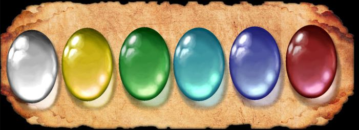 Translucent Gemstone Palette by hatwood