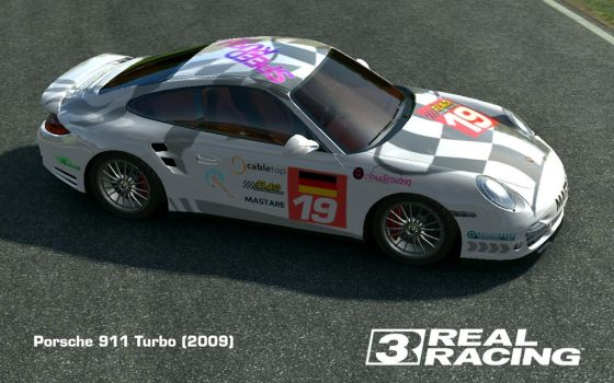 911 Turbo [2009] 'Heritage of Le Mans 19' by iceman-05