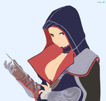 Female Assassin Base by Sirena93