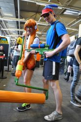 Splatoon at FACTS 2015 by KillingRaptor