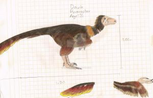 Dowie the Pyroraptor by Guadisaves02