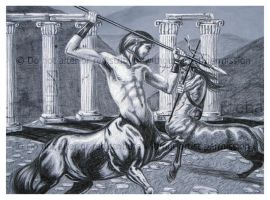 Battle of the Centaurs by Freha