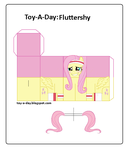 Toy-a-day Fluttershy [Training Gear] by GrapefruitFace1