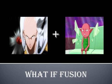 What If Fusion Saitama+Monaka by jss2141