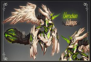 Fuwachii Auction - Veridian Wings [CLOSED] by Snouken