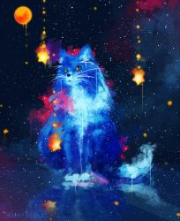 Cosmic Cat by SeerLight