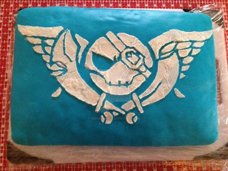 Slices of Arcadia: Skies of Arcadia in a Cake by agentpalmer