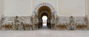 Great Gate of Dur-Sharrukin Palace by endegor