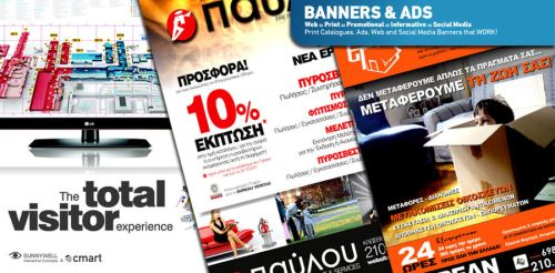 Banners Prints and Ads by SkylabCreative