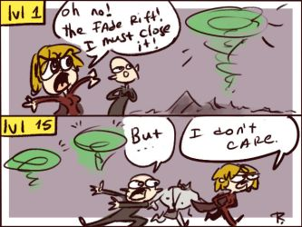 Dragon Age: Inquisition, doodles 15 by Ayej