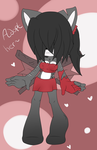 Sonic Adoptable - Scary girl CLOSED by Catherine-Adopts