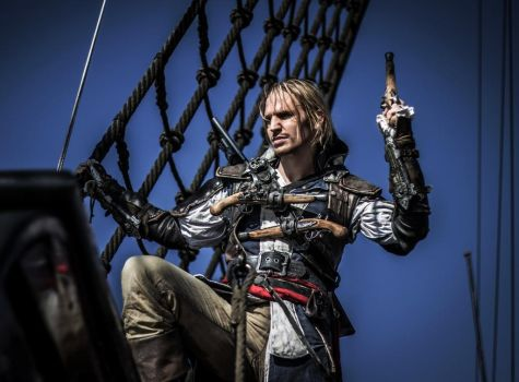 2013 to 2014 Edward Kenway by RBF-productions-NL