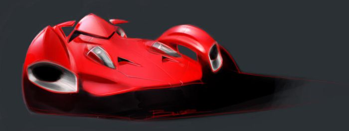 Single Seat Supercar by PPLBLISS