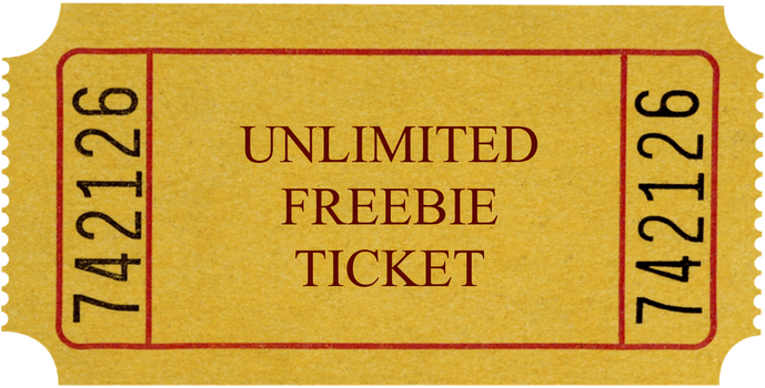 UNLIMITED FREEBIE TICKET FLATSALE- OPEN by arigato9000