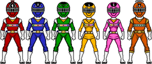 Power Rangers Space Express (2) by lurch-jr
