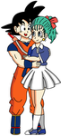 Goku and Bulma - UPDATED by RisanF