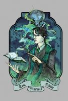 Tom Marvolo Riddle by Lily--Lu