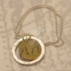 Art Coin Necklace by xodropdeadox