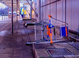 Forlorn Trolley by danhortonszar