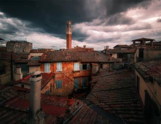 On the rooftops of Italy (2) by INVIV0