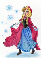 Frozen - It's too cold outside by My-Anne