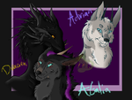 CM: Atalia, Dracien, and Adrian by AlkryEarth17