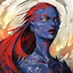 Fanart Friday - Mystique by TheOneWithBear