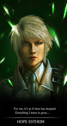 Final Fantasy XIII-2 Portrait: Hope Estheim by ChaoticBlossoms