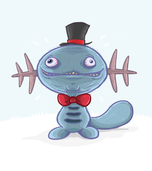 (Gentle)manly Wooper by Splapp-me-do