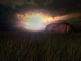 Ayers Rock by wurp