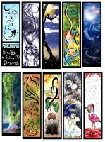 Gift Bookmarks by Paranoid-Duckkie