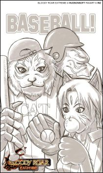 The Bloody Roar CATs by griever5401