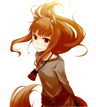 [Render] Holo - Spice and Wolf by Gintoki62