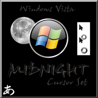 Midnight Cursor for Vista by Trennto