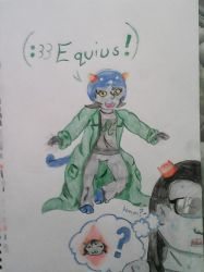 Nepeta and Equius by SleepyCloud97